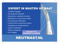 Advert Neutmast liggend A5